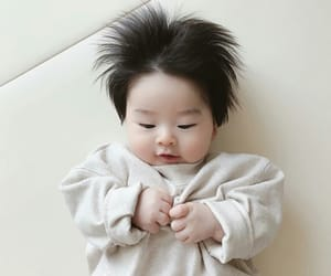 baby, cute, and asian baby image