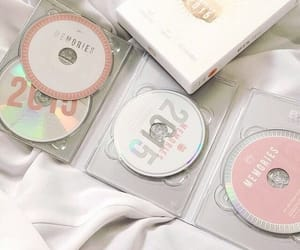 aesthetic, pink, and dvds image
