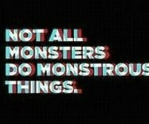 monster, quote, and werewolf image