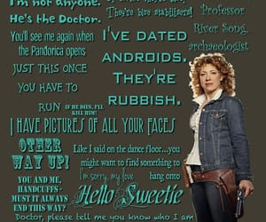 dr who, 11th doctor, and alex kingston image