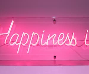 pink, happiness, and neon image
