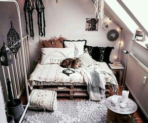 attic, boho, and decoration image