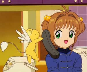 90s, anime, and kero image