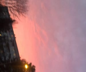 morning, sky, and pink image