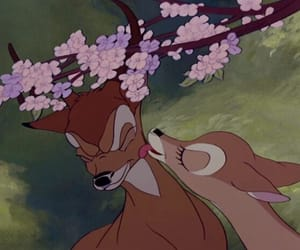 bambi, disney, and deer image