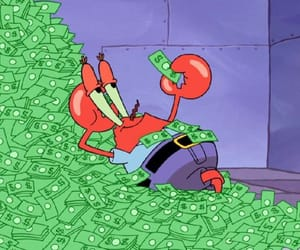money and spongebob image