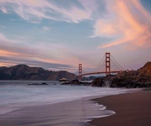 beach, city, and san francisco image