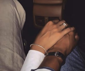 couple, ring, and couples image