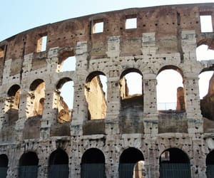 building, rome, and colosseum image