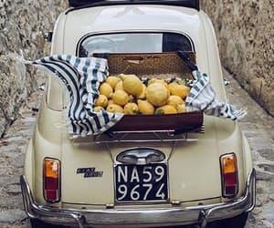 car, lemon, and spain image