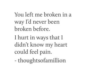 broken, deep, and heart image