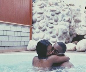 blackLove, couple, and cute image