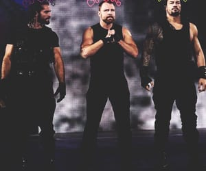 shield, roman reigns, and baes image
