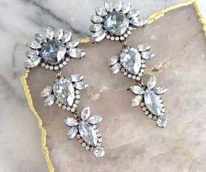 etsy, long earrings, and swarovski earrings image