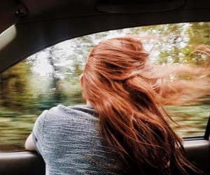 car, aesthetic, and hair image