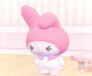 my melody, sanrio, and soft image