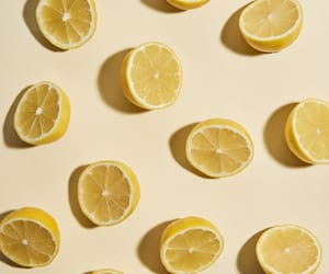 lemon, pastel, and yellow image
