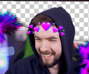 edit, jacksepticeye, and purple image