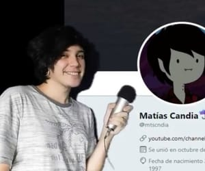 boy, emo boy, and matias candia image