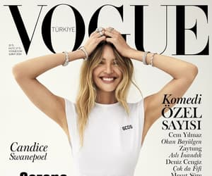 vogue, candice swanepoel, and beauty image