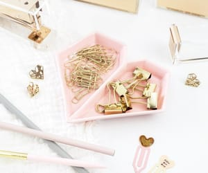 artsy, paper clips, and stationery image
