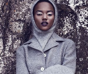 black model, fashion, and hijab image