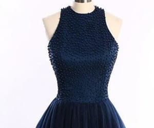 navy prom dresses, homecoming dress short, and homecoming dress blue image