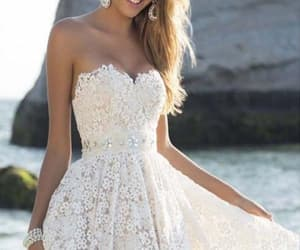 homecoming dress short, prom dresses white, and prom dresses 2018 image