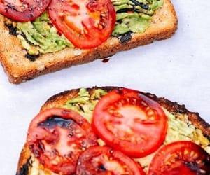avocado, toast, and vegan image
