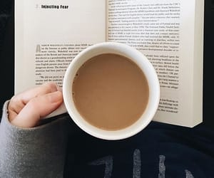 beverage, book, and coffee image