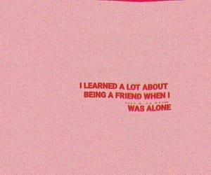 pink, quotes, and friends image