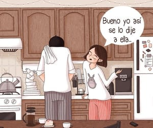 cocina, love, and parejas image