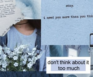aesthetic, blue, and demi lovato image