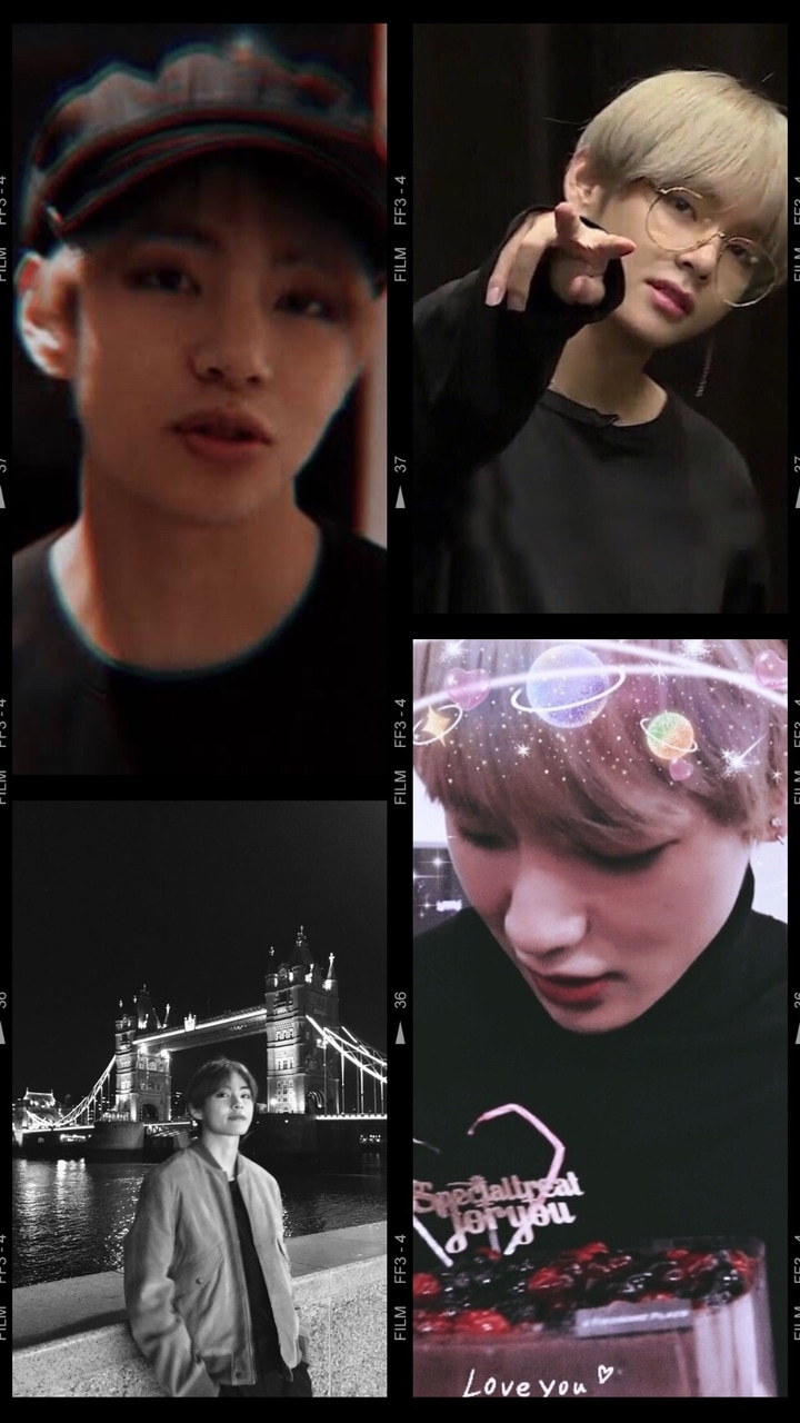 Bts Taehyung Wallpaper By Me On We Heart It