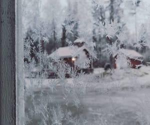 cozy, snow, and theme image