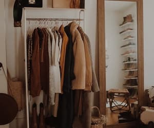 clothes, brown, and fashion image