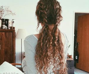 beauty, hair, and look image