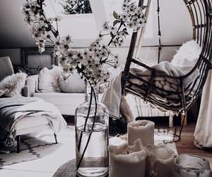 boho, candles, and decor image