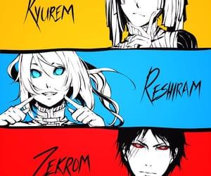 anime, game, and reshiram image