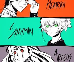 anime, game, and human image