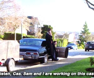 dean winchester, gif, and series image