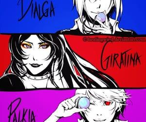 anime, game, and dialga image
