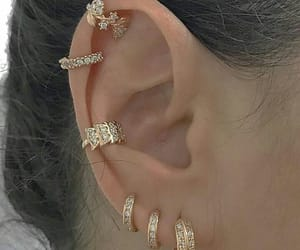 accessory, diamonds, and earrings image