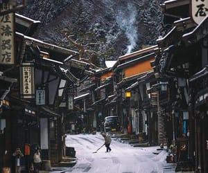 japon, Nagano, and snow image