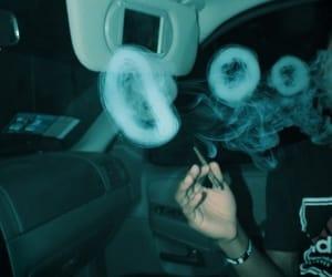 smoke, weed, and car image