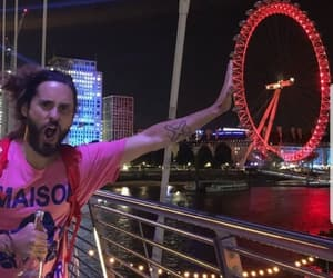 30 seconds to mars, london eye, and 30stm image