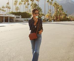 blogger, fashion, and ice cream image