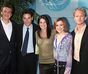 Barney Stinson, robin scherbatsky, and how i met your mother image