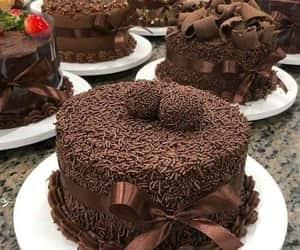 cake, torta, and chocolate image