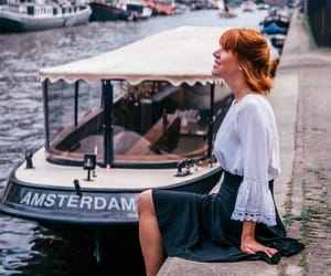 amsterdam, boat, and to do image